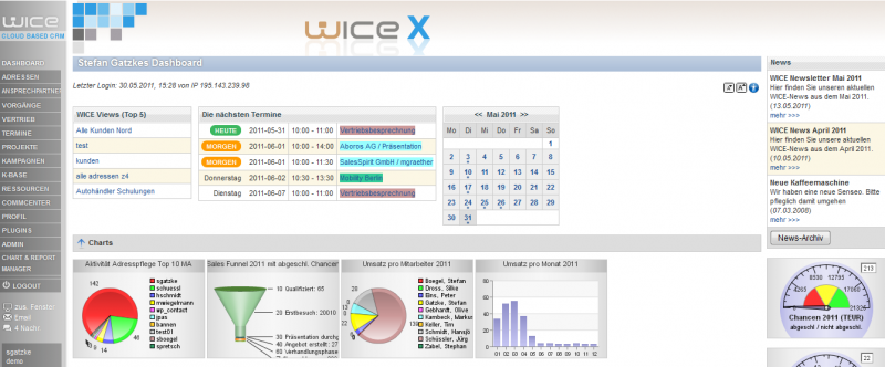 Datei:Screenshot WICE-x Dashboard Termin.PNG